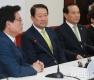 자유한국당 찾은 국민의당 비대위