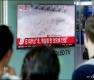 北 6차 핵실험 추정 뉴스 시청하는 시민들