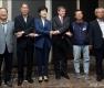 인사 나누는 김영주 장관-가이 라이더 사무총장