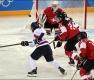 여자아이스하키 단일팀, '스위스전 패배'