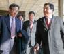심재철 의원, '정부 비공개 자료 유출 혐의'로 검찰 출석