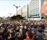 국회 앞 가득 메운 '3차 택시 파업 집회'