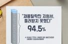 상반기 채용 탈락 구직자 94.5% '지원서 못 돌려받아'