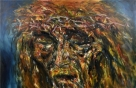 민중미술 작가가 선보이는 '예수 초상'