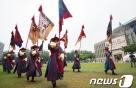 '위풍당당' 왕실호위군 서울 도심서 퍼레이드