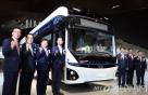 현대차, 한번 충전에 290㎞ 첫 상용 전기버스 '일렉시티' 공개