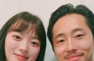 """천우희, '옥자' 스티븐연과 다정하게…""""자랑할래요"""""""