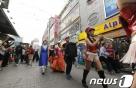 시장상인-노점상 뭉쳤다…중구 남대문시장 야간대축제
