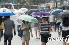 [오늘날씨] 전국 곳곳 천둥·번개 빗줄기…제주 장마전선 영향