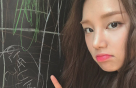 """라붐 솔빈, 입을 내밀고 삐친 표정…""""사랑스러워"""""""