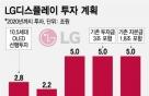 "LGD 20조 투자 '올인'…""3년 뒤 OLED 매출비중 40%로"""
