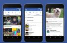 페이스북, 유튜브와 비슷한 '와치' 공개
