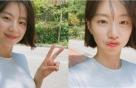 """박수진, 배용준·아들과 함께…""""유모차끌고 나들이♡"""""""