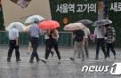 [19일 날씨] 엿새째 비 '오락가락'…중부 시간당 20㎜ 폭우