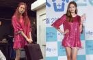 현아 vs 한채영, 아찔한 '핑크 원피스'…어디 옷?
