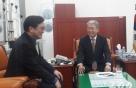 우원식, '김명수 인준'에 국회지도부 감사 방문…'활짝'