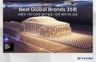 현대차 글로벌 브랜드 3년 연속 30위권..기아차도 2년째 60위권