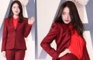 """'매드독' 류화영, 섹시한 올 레드 패션…""""포즈는 도발적"""""""