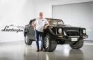 람보르기니 첫 SUV 'LM002' 복원차량 선보여