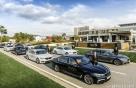 BMW LPGA 'KEB하나은행 챔피언십' 의전 차량 70대 지원