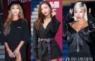 """효린·루나·제시, '헤라 서울패션위크'…""""과감한 노출 패션"""""""