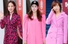 """""""핑크는 어떻게 입지?""""…★들의 핑크 톤 패션 스타일링"""