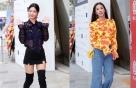 클라라·한은정, '랭앤루' 컬렉션 참석 패션 살펴보니…