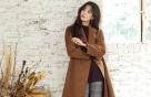 한효주의 청순한 겨울 패션은?…그레이 팬츠+앵클 부츠