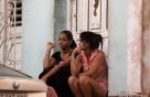 쿠바의 아침풍경과 마늘장수 청년