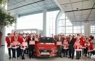 '코나' 타고 선물 주는 현대차 산타원정대 떴다