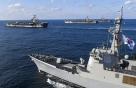 한반도 인근 해역에 한미일 이지스함 4척 투입...미사일 경보훈련 실시