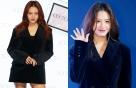 '패셔니스타' 김재경의 올블랙 룩은?…
