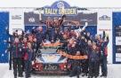 현대차 WRC 스웨덴 랠리서 첫 우승..더블 포디움 장식
