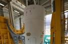 모습 드러낸 한국형 시험발사체…나로우주센터 이동 배치