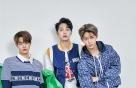 '워너원' 막내 3인방의 스포티 패션…포인트는 '블루'