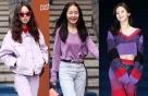 """패션위크 참석한 ★들…""""드레스 코드는 시스루·보라색"""""""