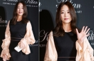 """김효진, 풍성한 소매로 우아하게…""""여전한 미모"""""""