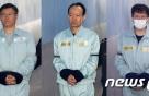 '국정원 특활비 수수' 문고리 3인방 징역 4~5년 구형(종합)