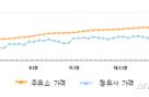 휘발유·등유·경유 또 연중 '최고가'…3년 동안 18.6% 올라