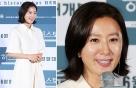 """'허스토리' 김희애, 우아한 올 화이트 룩…""""화사하게"""""""