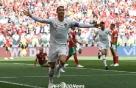 [월드컵] '호날두 결승골' 포르투갈, 모로코 꺾고 첫 승 신고