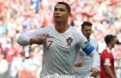 [월드컵] '호날두 헤더골' 포르투갈, 모로코에 1-0 리드(전반 종료)