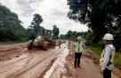 SK건설, 라오스댐 사고현장 도로 등 복구 '총력'