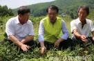 농협생명, 폭염피해 지원 위해 농가 방문