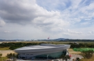 인천공항, 종합실내체육관 '스카이돔' 개장… 배드민턴·농구코트 등 갖춰