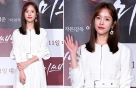 """'미쓰백' 한지민, 화이트 원피스+레드립 """"비주얼 완성"""""""