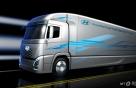 현대차 내년 출시 수소전기트럭 랜더링 이미지 공개