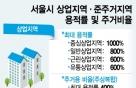 상업지역 주거비율 완화…서울 도심내 주거제한 기조 바뀔까