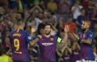 '메시 해트트릭' 바르셀로나, PSV아인트호벤 4-0 대파