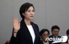 """야 """"유은혜 도덕성 흠결"""" vs 여 """"던지기식 부실검증""""(종합)"""